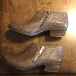 Leather Lucky ankle boots